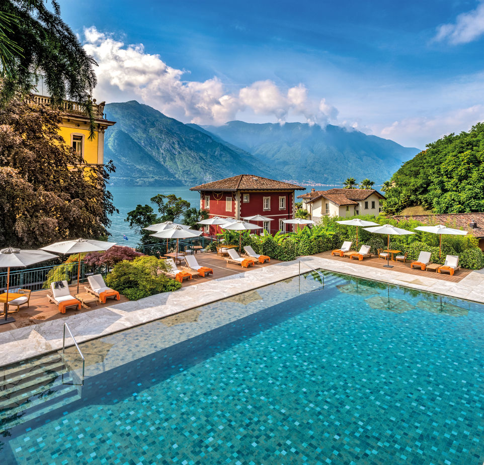 Flowers Pool, Grand Hotel Tremezzo
