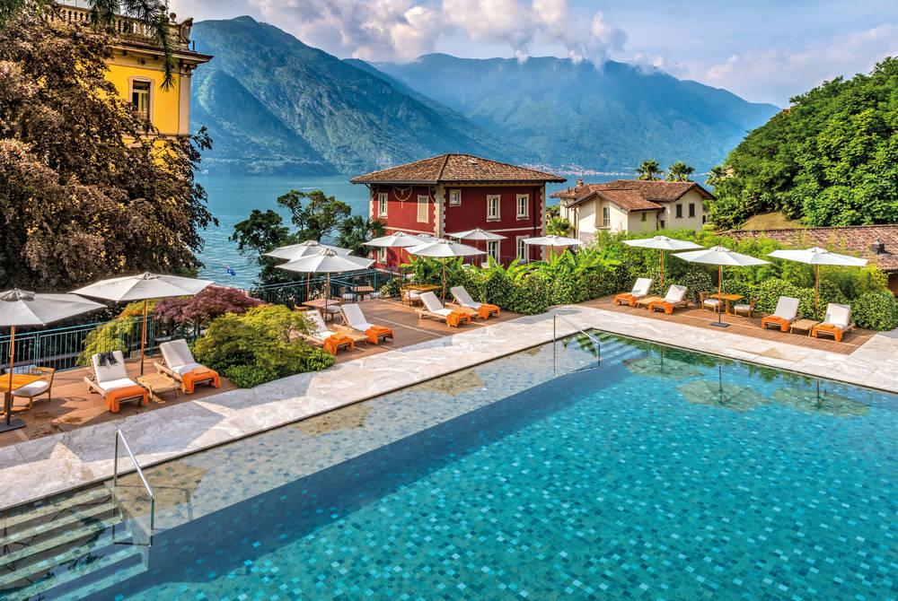 Flowers Pool, Grand Hotel Tremezzo