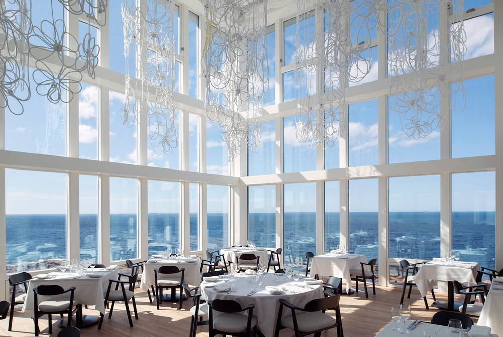 Dining room, Fogo Island Inn