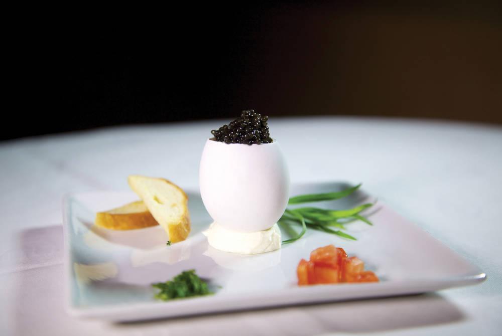 Caviar on SeaDream