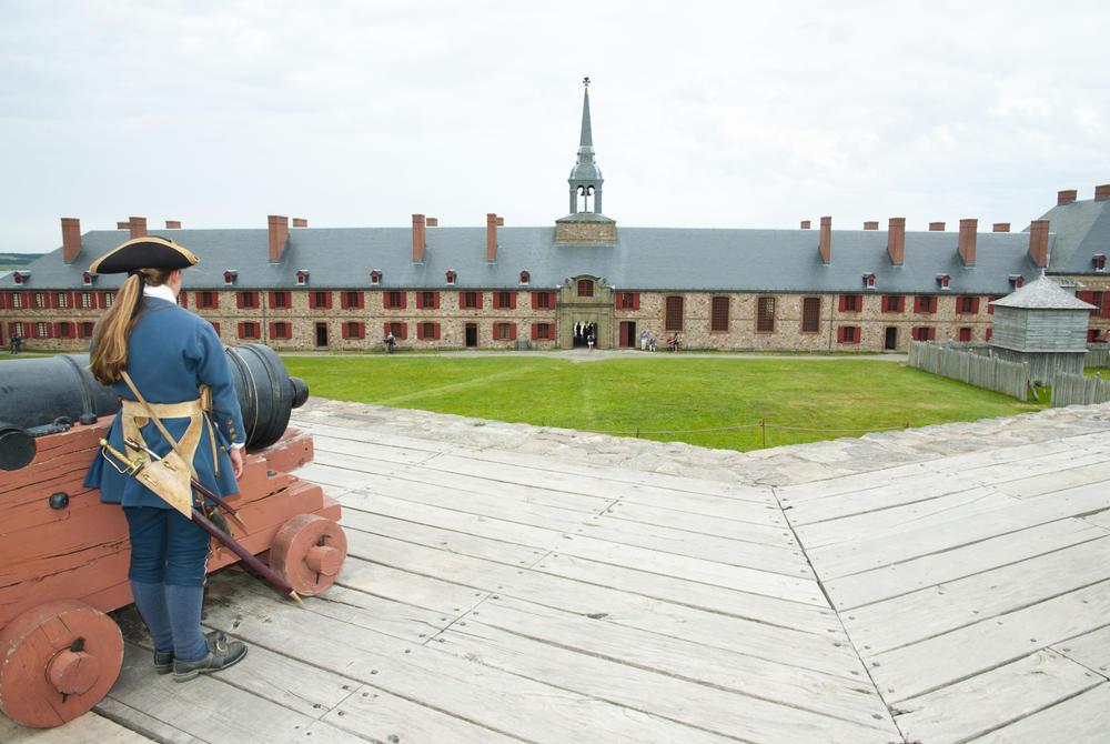 Fort Louisbourg, Nova Scotia, Atlantic Canada