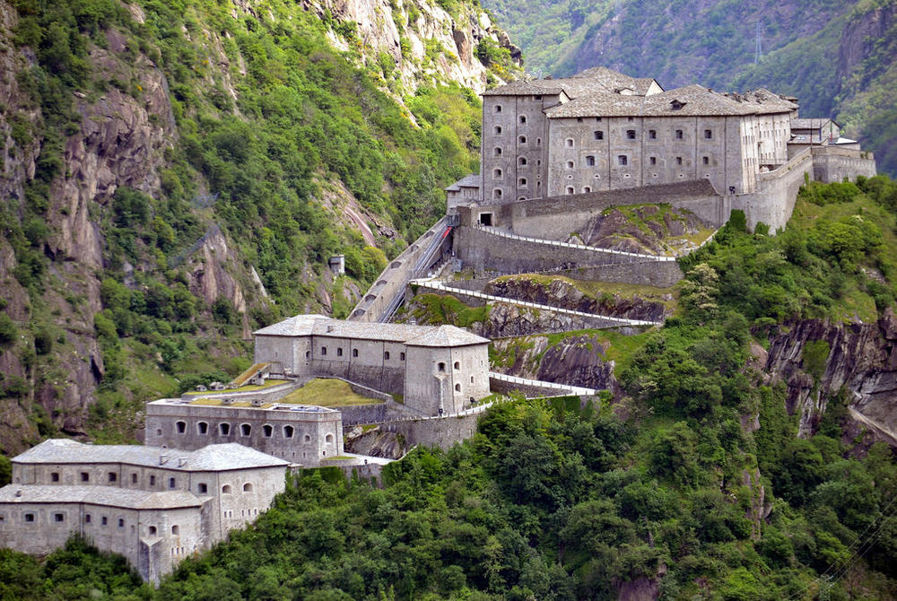 Fortress of Bard, Aosta Valley