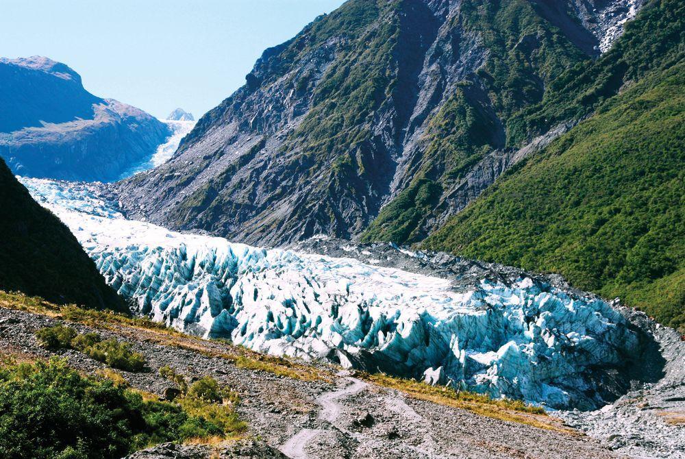 Fox Glacier, Westland National Park, South Island, New Zealand
