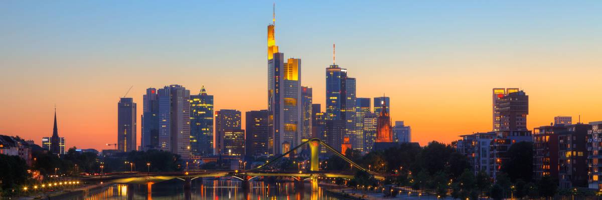 Frankfurt, Main River, Germany