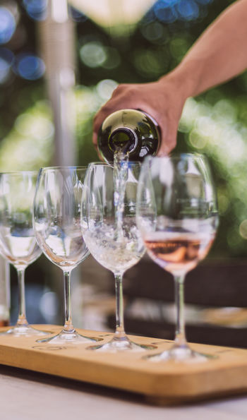 A guided tasting on Franschhoek's wine tram