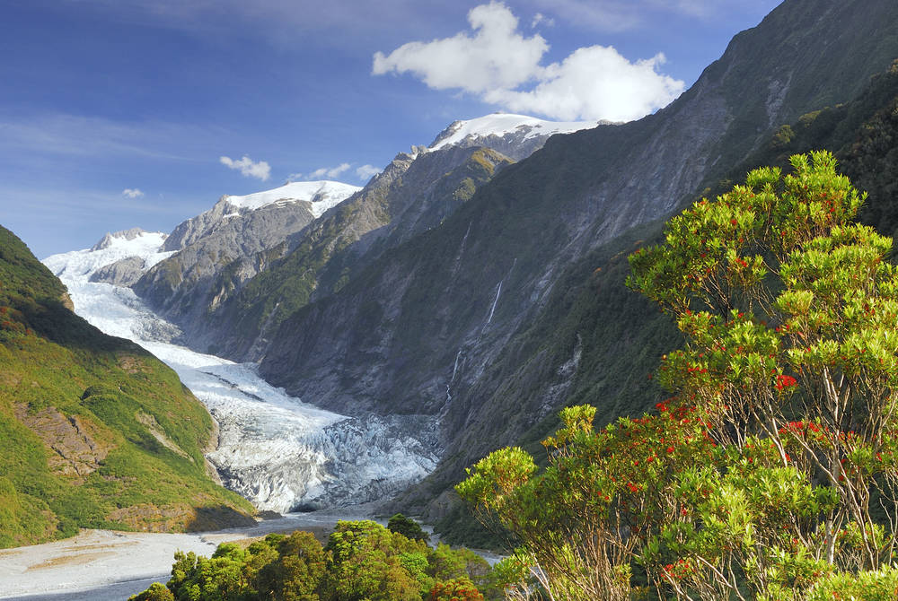 Franz Josef Glacier, New Zealand