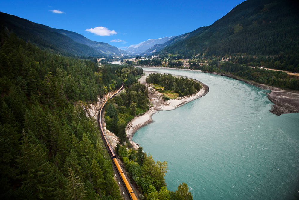Fraser Canyon, Rocky Mountaineer