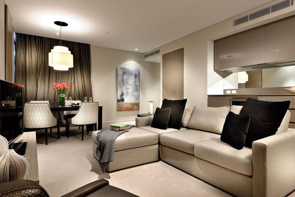 Fraser Suites Living Room