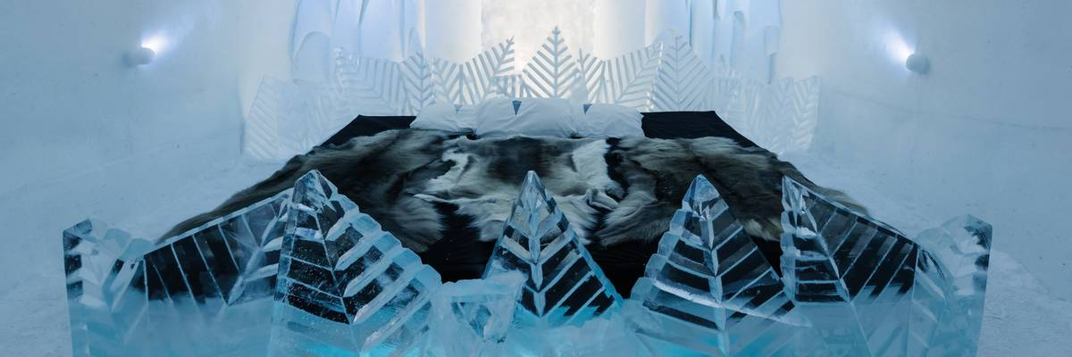 Stay at the famous ICEHOTEL in Sweden