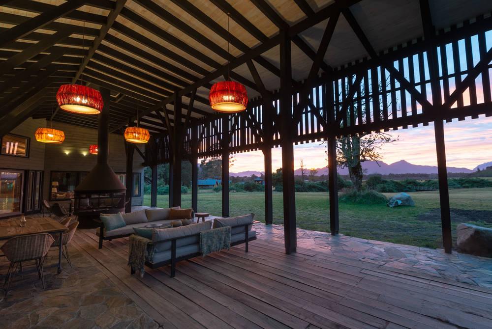 Outdoor terrace, Futangue Hotel & Spa