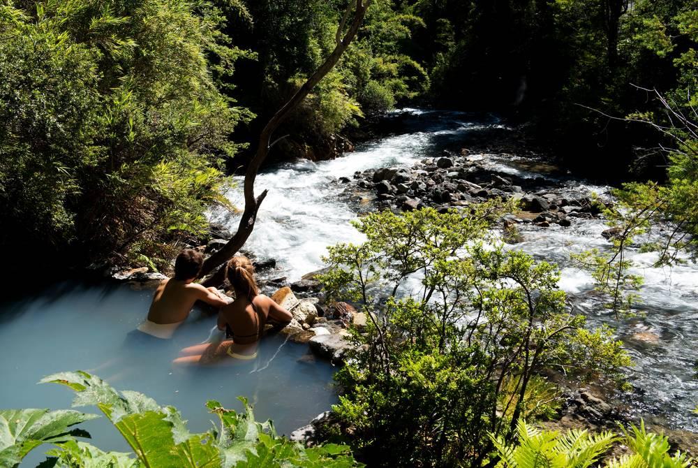 Hot springs, Futangue Park
