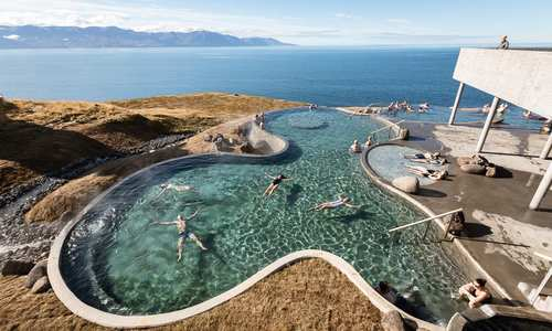 GEO Sea baths Húsavík, Arctic Coast Way