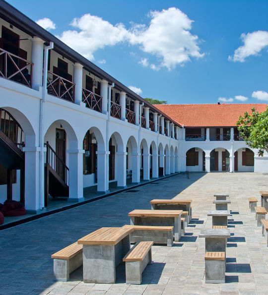Galle Fort Dutch Hospital Shopping Precinct