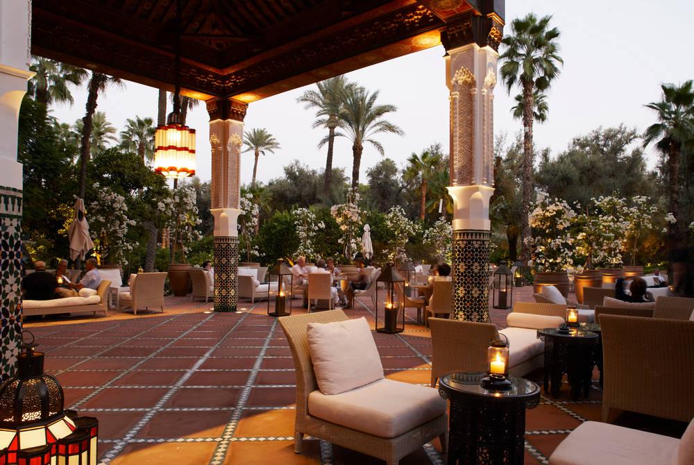 Gallerie Majorelle Restaurant, La Mamounia, Marrakech, Morocco