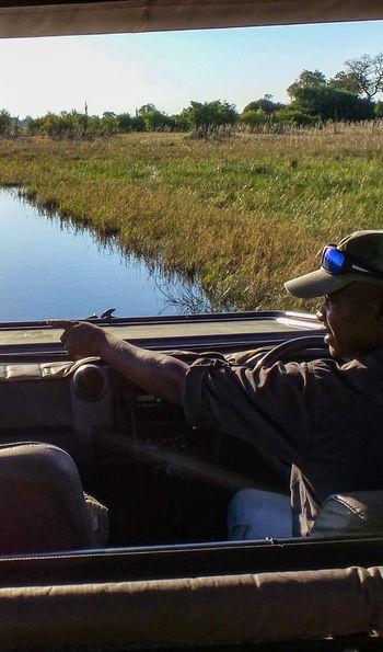 Game drive, Botswana