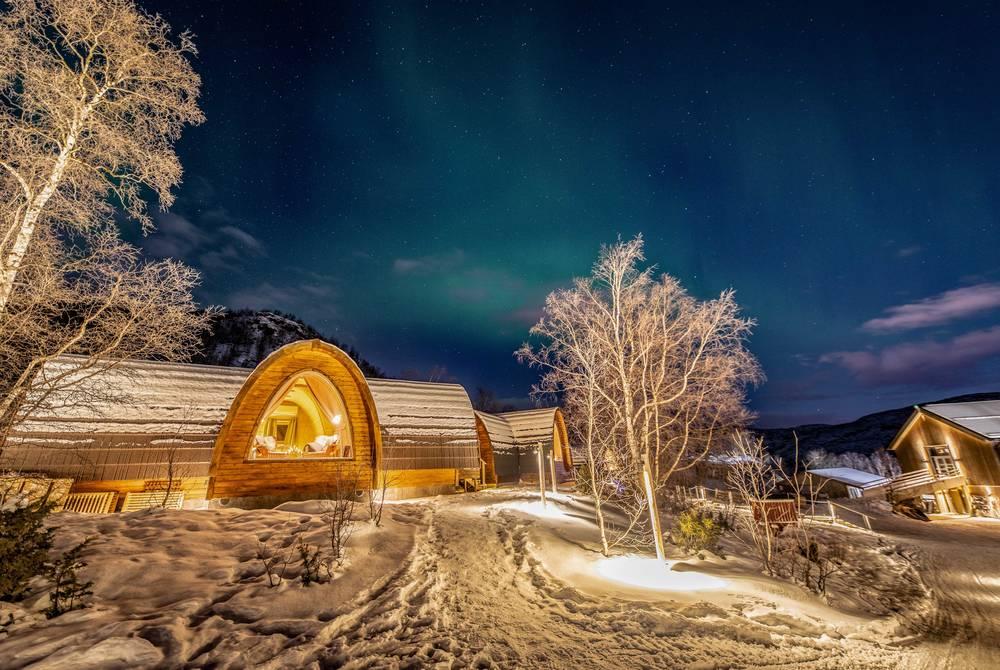 Gamme Cabins, Snowhotel Kirkenes