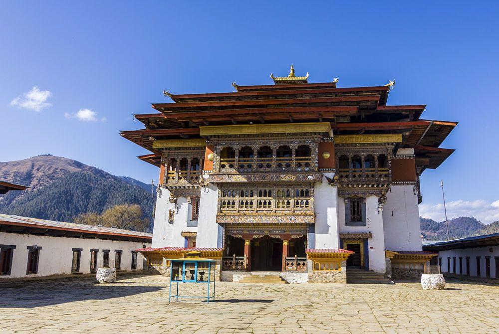 Gangtey Monastery, Phobjikha Valley