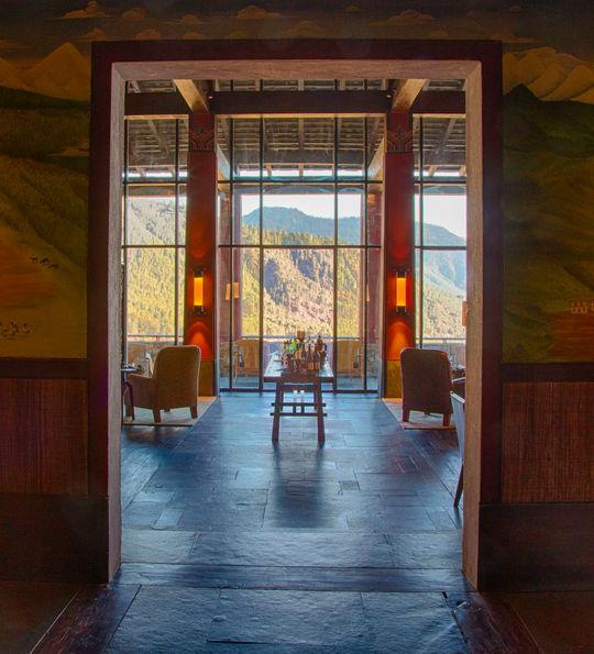 Gangtey Lodge, Bhutan
