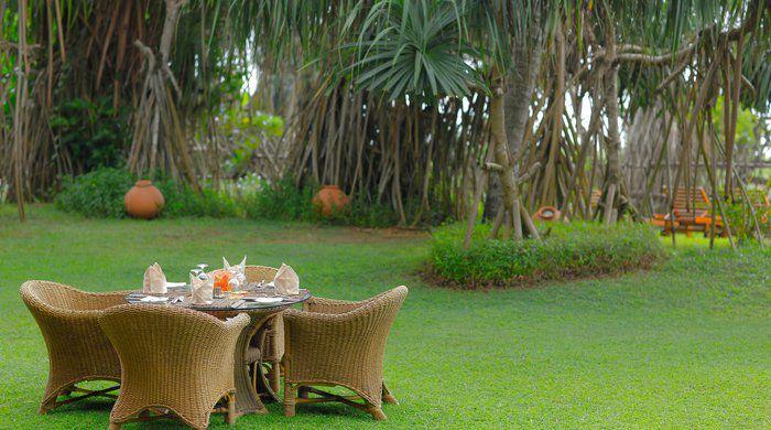 Garden, Aditya Resort, Galle