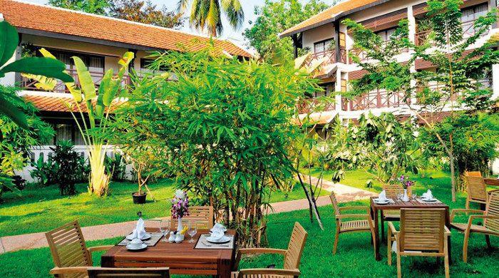 Garden, Ansara Hotel, Vientiane