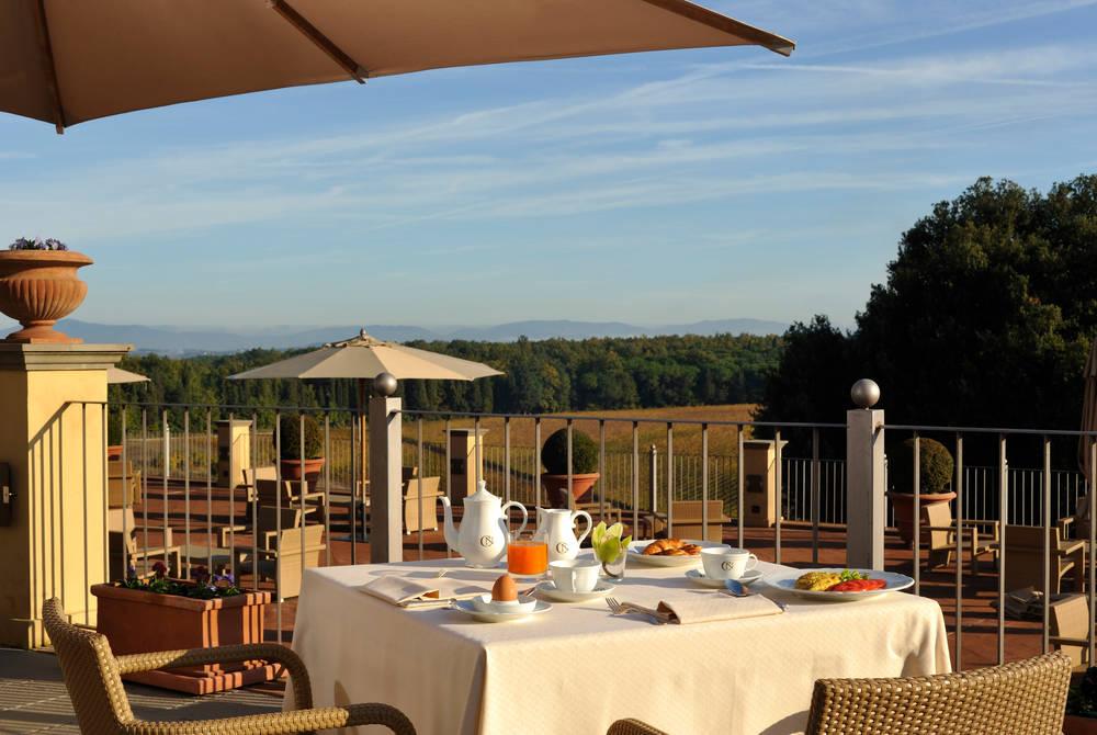 Garden Restaurant, Castello del Nero