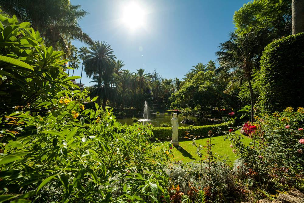 Gardens, Hotel Botanico