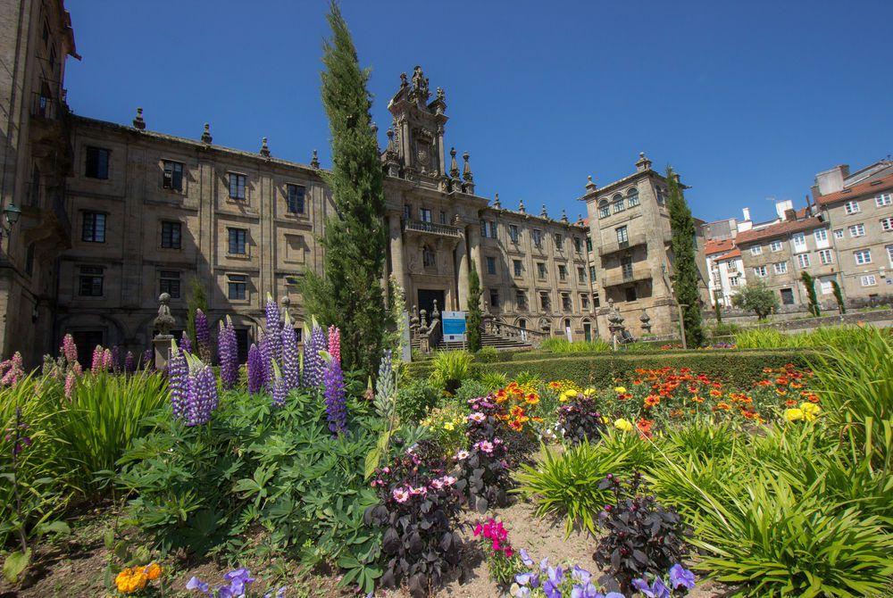 Gardens in Santiago de Compostela