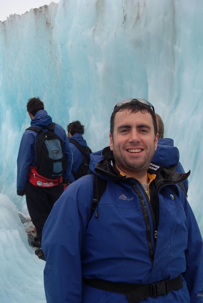 Gary Stevens - Franz Josef Glacier - New Zealand