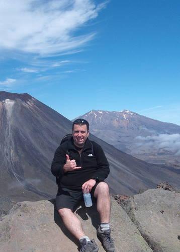 Gary Stevens - Tongariro Crossing - New Zealand