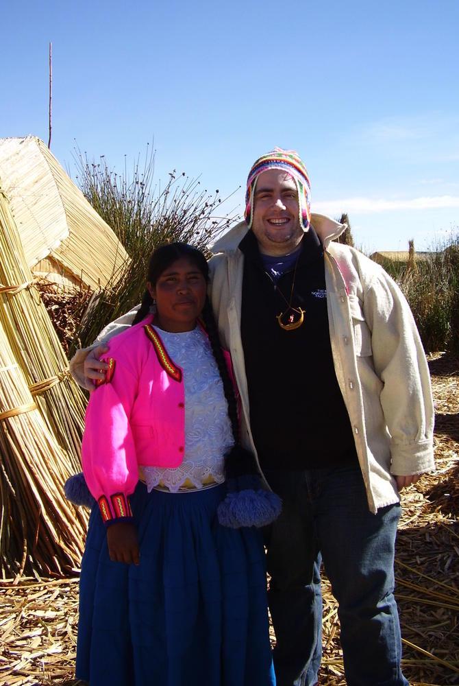 Gary Stevens - Lake Titicaca - Peru/Bolivia border