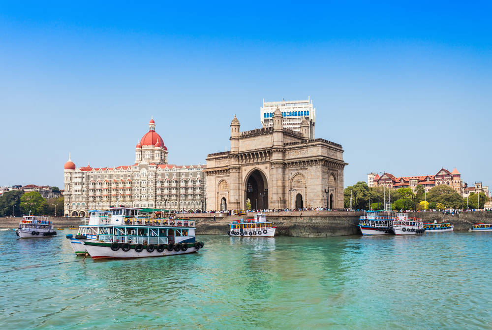 Gateway of India and Taj Mahal Palace, Mumbai