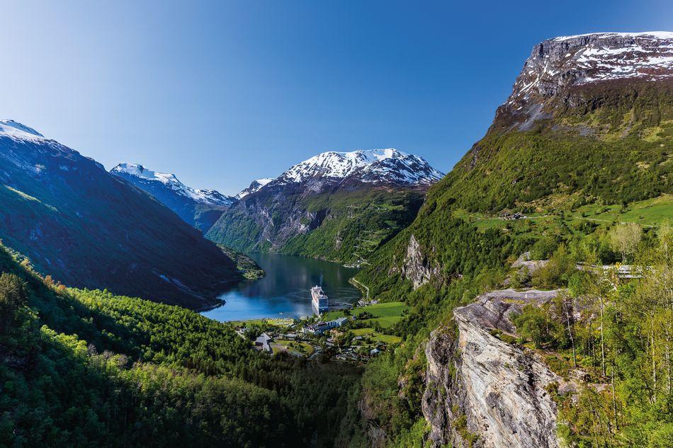 Geirangerfjord fjord in Norway