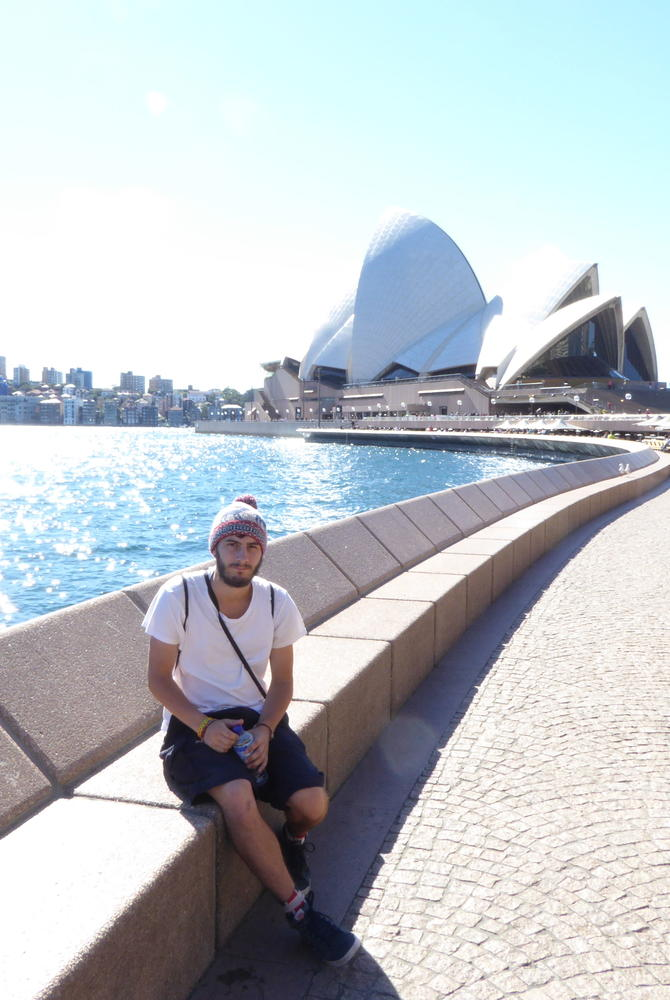 George Clissold at Sydney Opera House