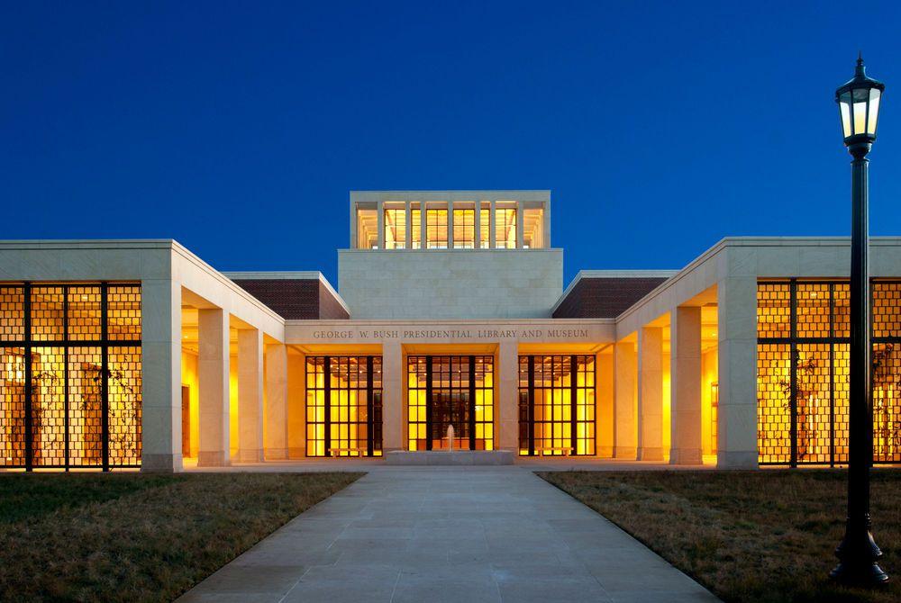 George W. Bush Library Exterior Dallas (Credit: DCBV)