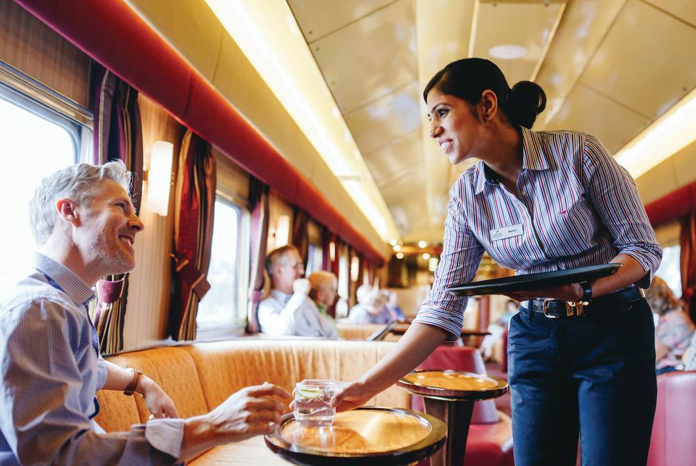 The Ghan Gold Service