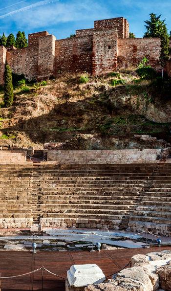 Gibralfaro Castle and Roman amphitheatre, Málaga