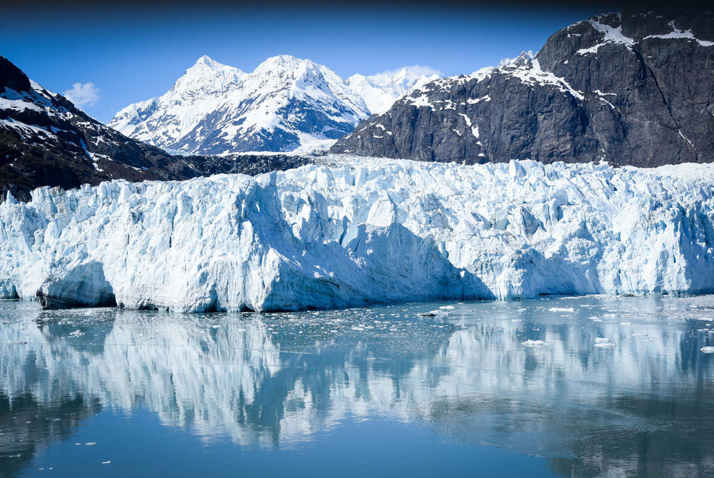 Waters of Glacier Bay, Alaska