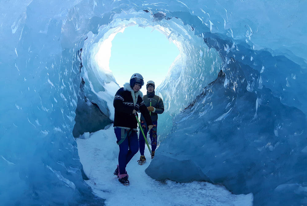 Glacier hike & south Iceland's waterfalls