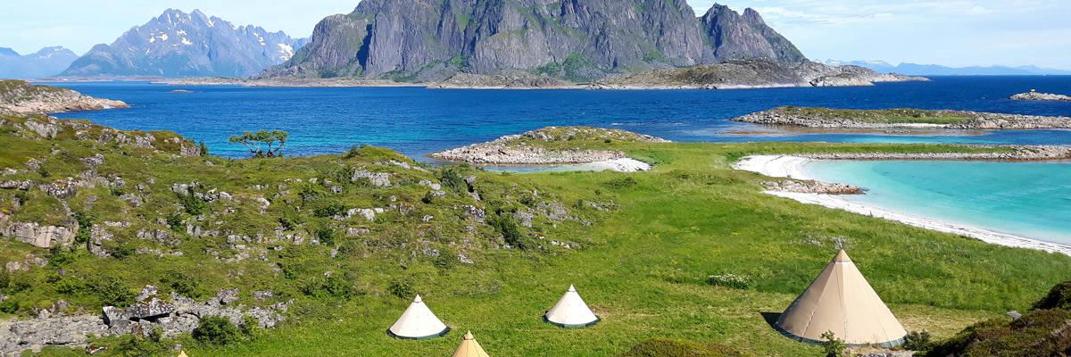 Glamping, Lofoten Islands