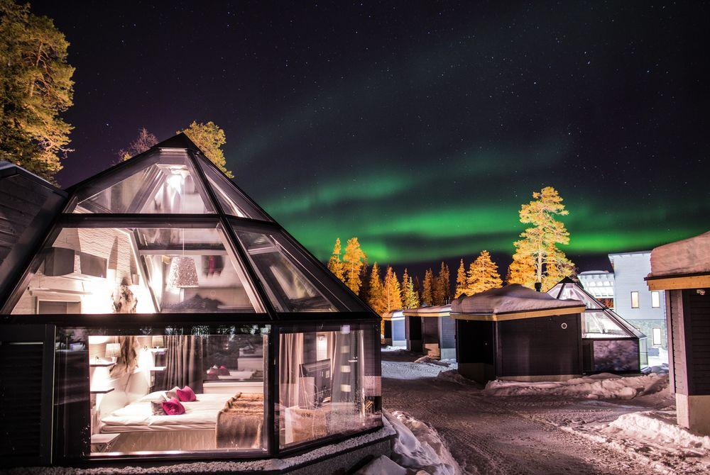 Glass Igloo, Santa's Hotel Aurora