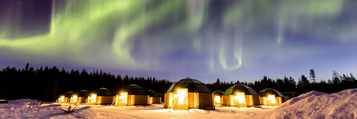 Glass Igloos, Arctic SnowHotel