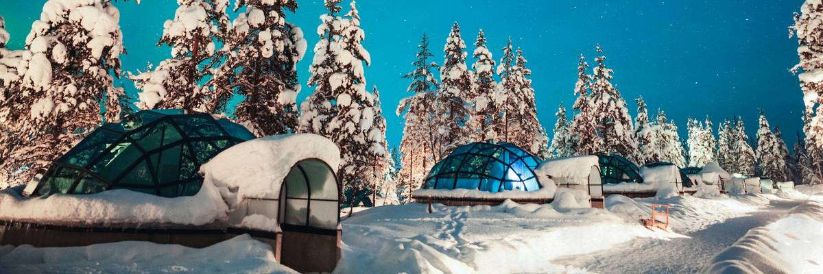 Finland's best glass igloos and aurora hotels