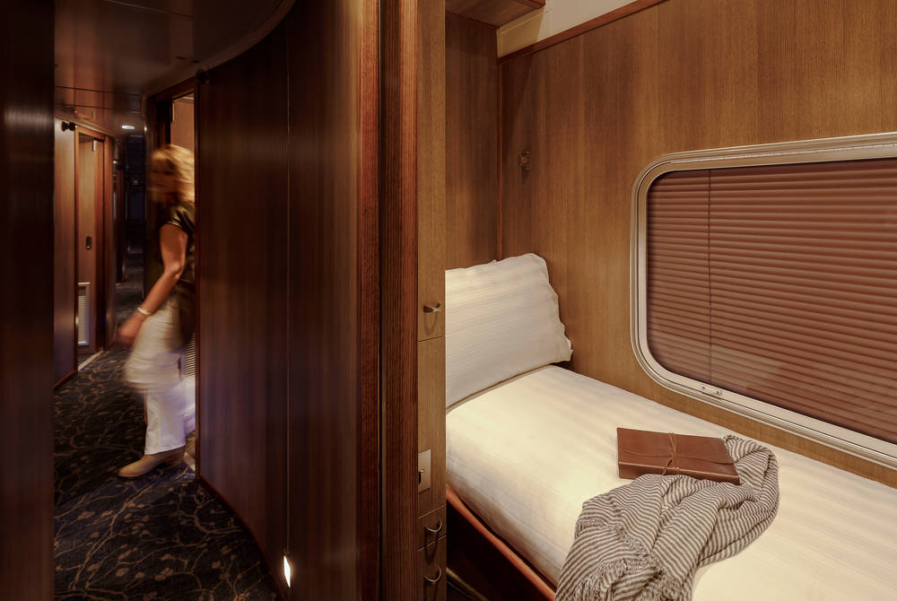 Gold Single Cabin aboard The Indian Pacific