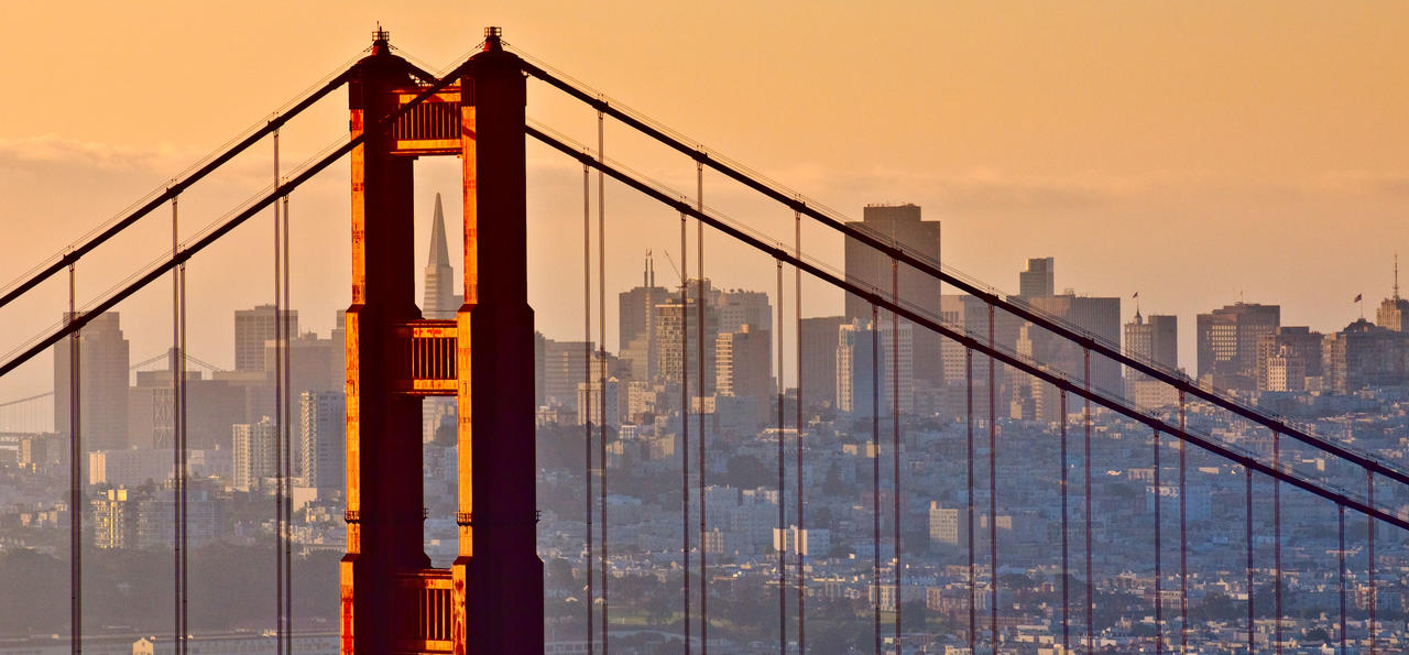 Golden Bridge, San Francisco, California