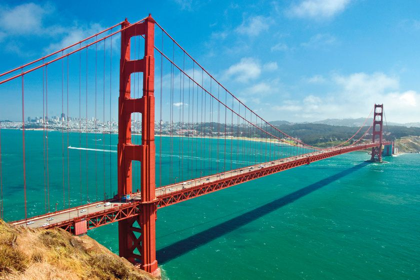Golden Bridge, San Francisco, California