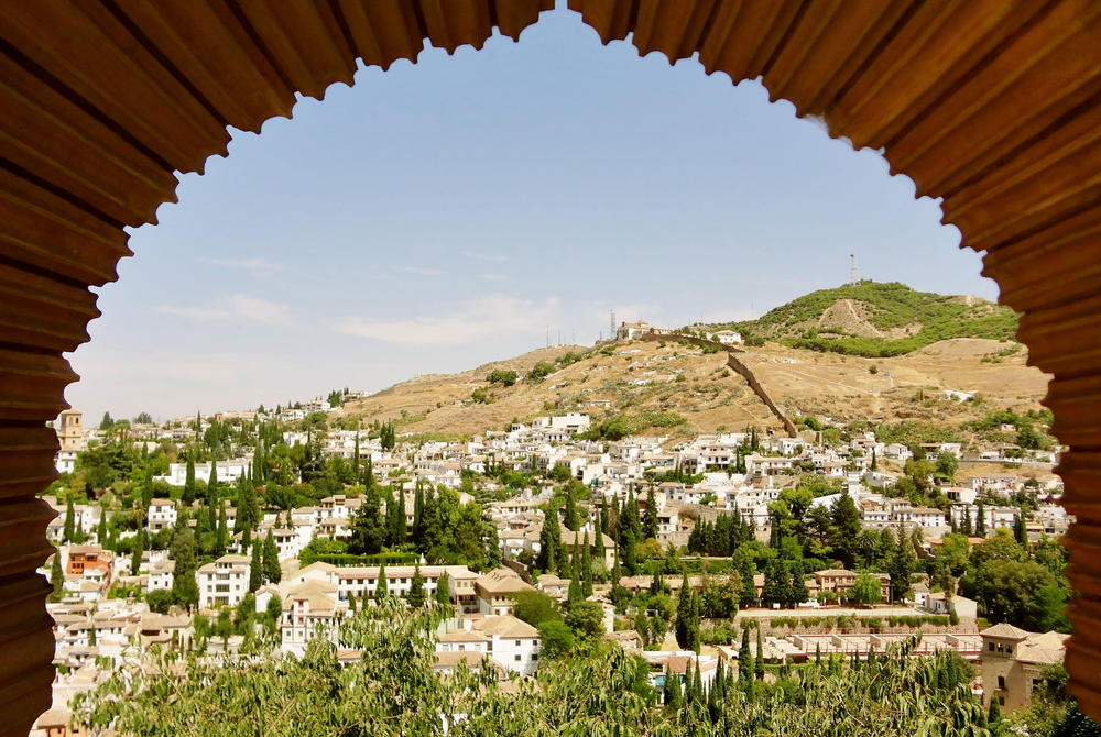 Granada's old town foothills