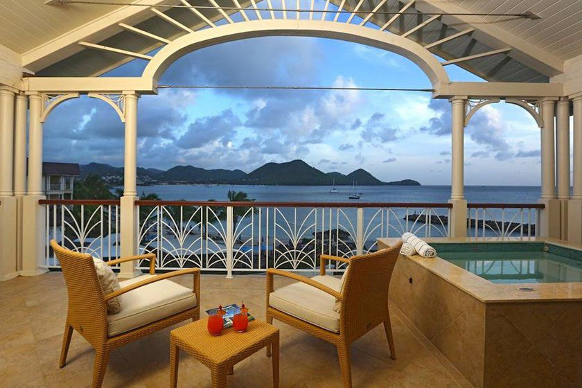 Grand Ocean View Suite, Landings St Lucia, Caribbean
