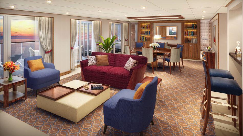 Grand Wintergarden Suite Seabourn Encore