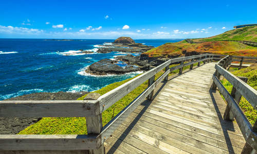 Grant Point, western tip of Phillip Island, Victoria, Australia