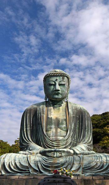 Great Buddha in Daibutsu, Kamakura